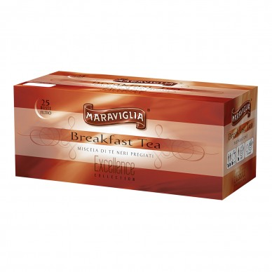 "BREAKFAST TEA ""EXCELLENCE COLLECTION"" 25 FILTRI"