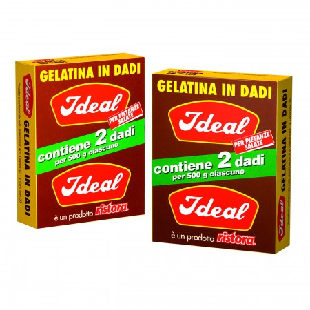 GELATINA IN DADI IDEAL 2 DADI ASTUCCIO