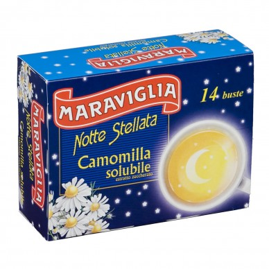 """NOTTE STELLATA"" INSTANT CAMOMILE 14 BAGS"
