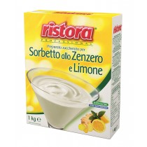 INSTANT SUGARED PRODUCT FOR GINGER AND LEMON SHERBET