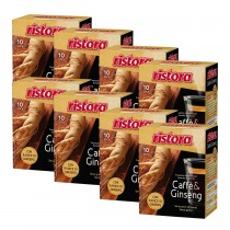 INSTANT COFFEE & GINSENG 8 BOXES X 10 BAGS