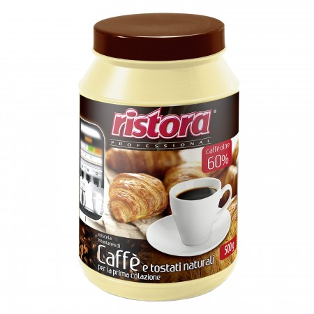 INSTANT MIX OF COFFEE (60%) AND CEREALS