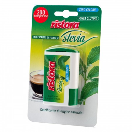 STEVIA 200 TABLETS DISPENSER RISTORA
