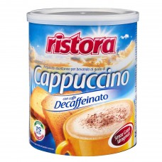 INSTANT CAPPUCCINO WITH DECAFFEINATED COFFEE
